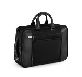 PRF 3.0 - Large Three-Way Briefcase by Zero Halliburton (Color: Black)