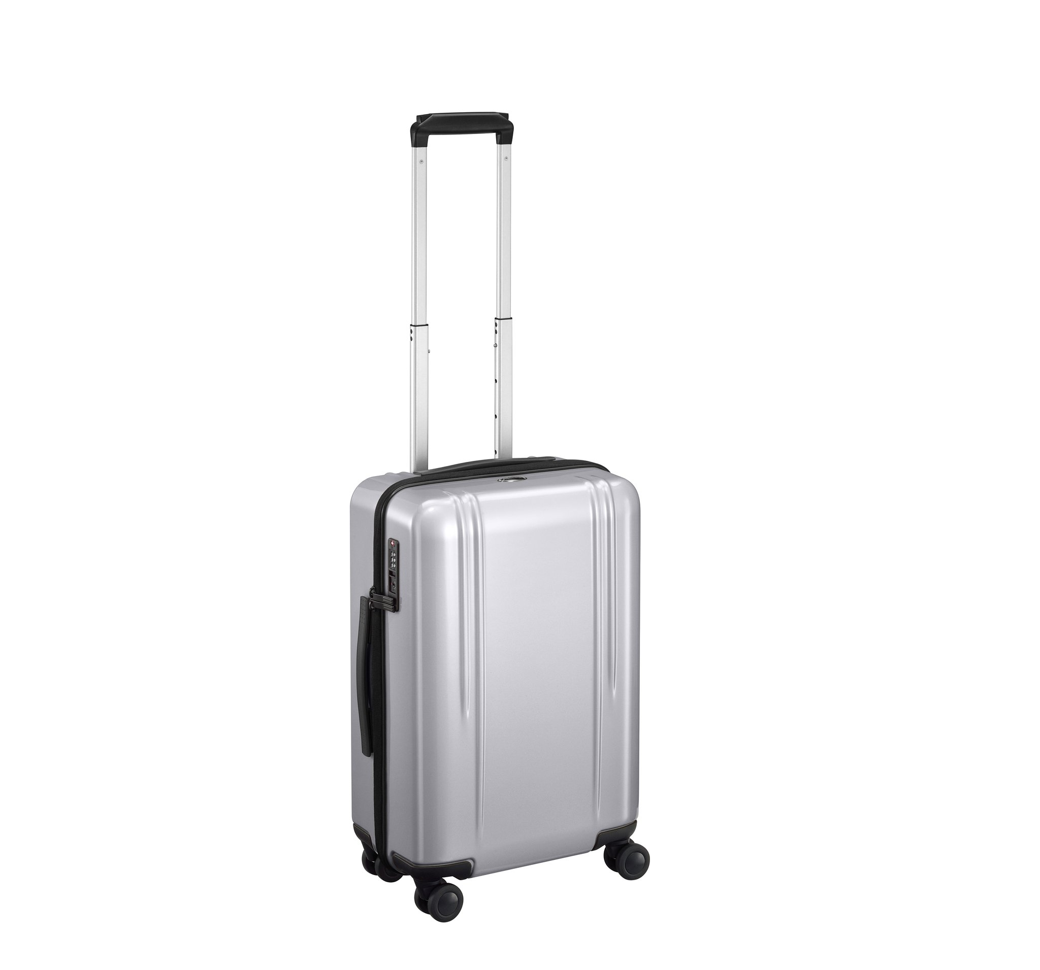 "ZRL - 22"" Domestic Lightweight Luggage by Zero Halliburton (Color: Silver)"