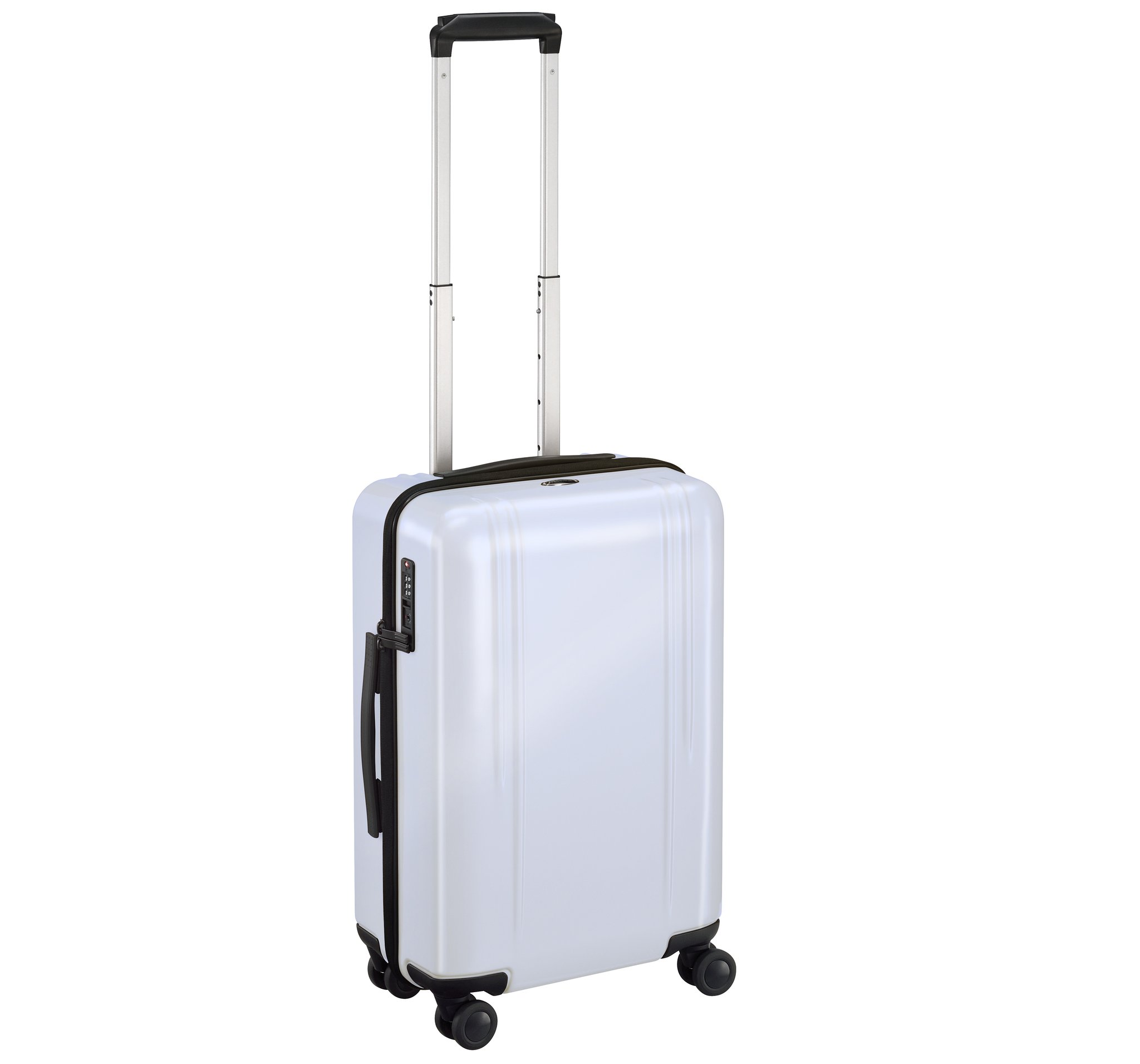 "ZRL - 22"" Domestic Lightweight Luggage by Zero Halliburton (Color: White)"