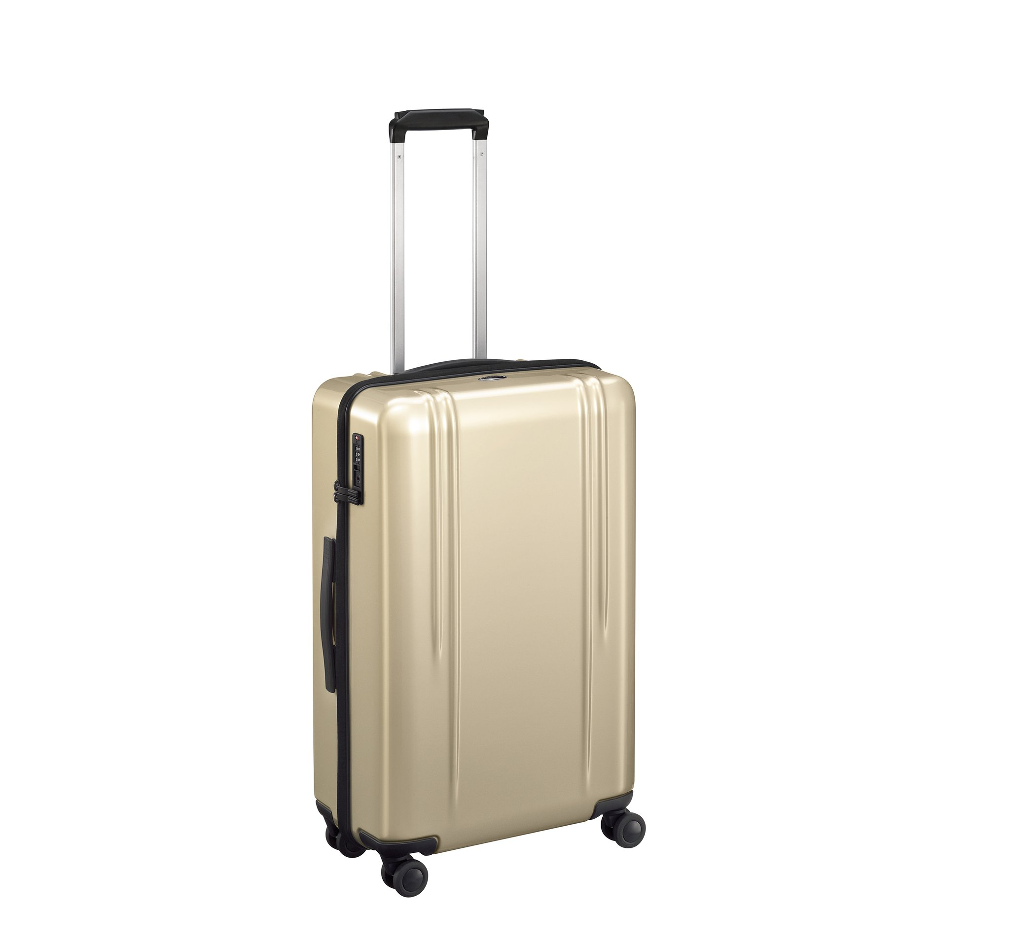 "ZRL - 26"" Lightweight Spinner Luggage by Zero Halliburton (Color: Polished Gold)"