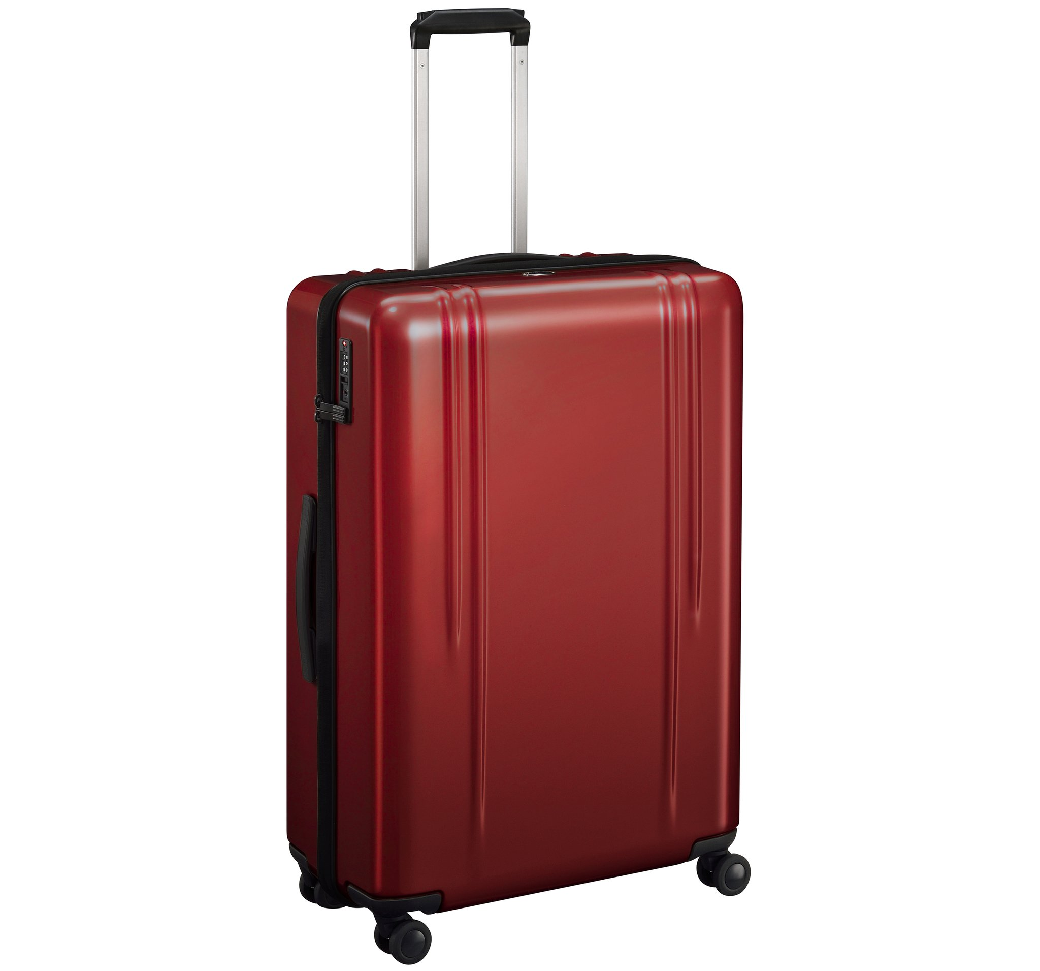"ZRL - 28"" Lightweight Luggage by Zero Halliburton (Color: Red)"