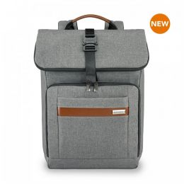 Kinzie Street Medium Foldover Backpack by Briggs & Riley (Color: Grey)