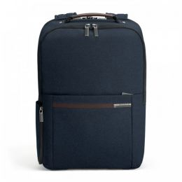 "Kinzie Street Medium Backpack  for 16"" laptops by Briggs & Riley (Color: Navy)"