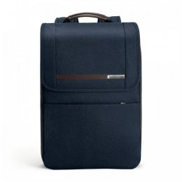 "Kinzie Street Flapover Expandable Backpack  for 15.6"" laptops by Briggs & Riley (Color: Navy)"