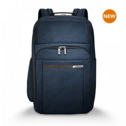 "Kinzie Street Large Backpack for 18"" h by Briggs & Riley (Color: Navy)"